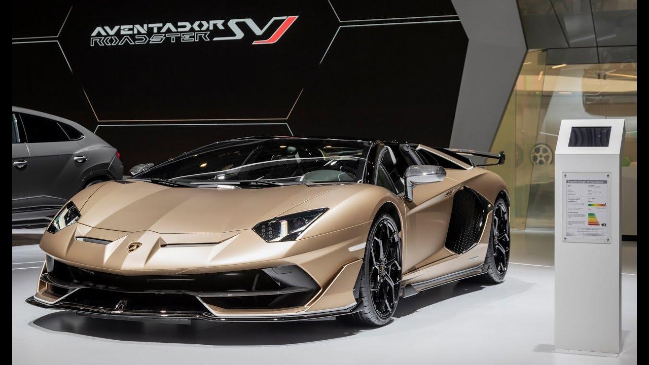 2020 Lamborghini Aventador SVJ Roadster \u2013 Walkaround / 800