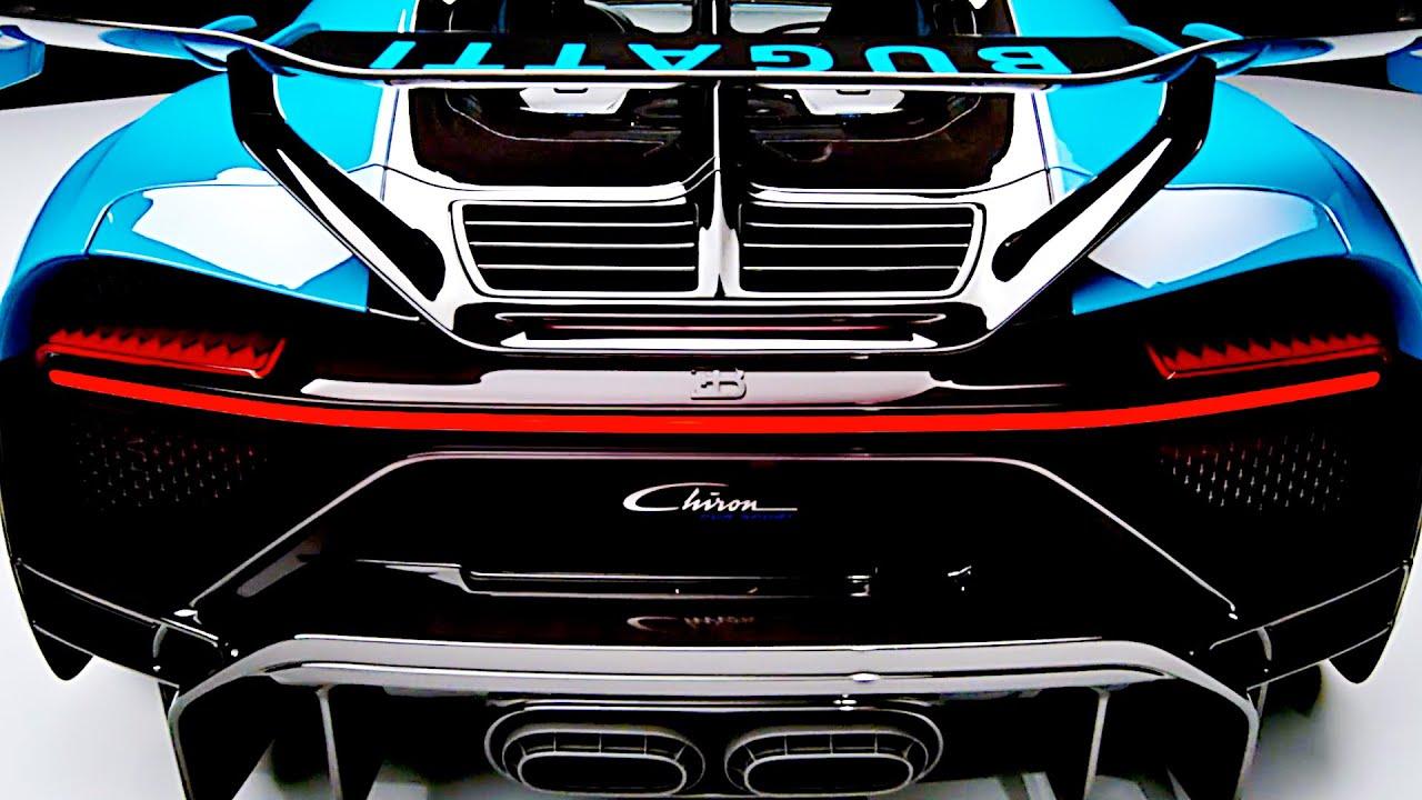 Bugatti Chiron Pur Sport 2020 Design Interior Driving Autosportmotor