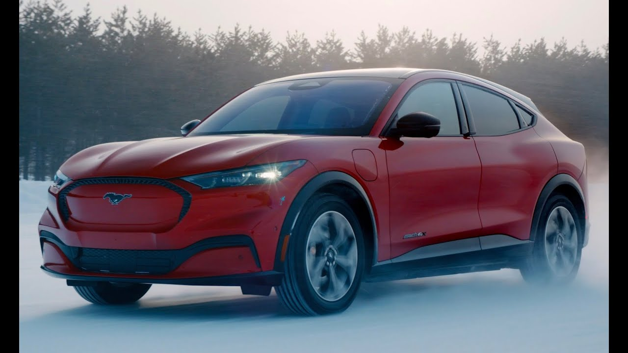 2021 Ford Mustang Mach E Awd