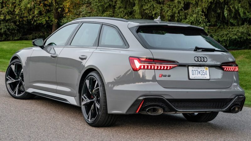 2021 Audi RS 6 Avant - Money can't buy happiness… but it ...