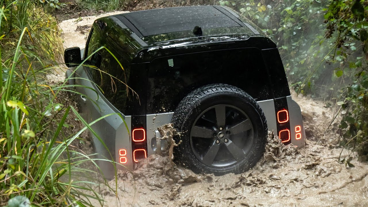 2021 Land Rover Defender 90 - Awesome Off-road Driving ...