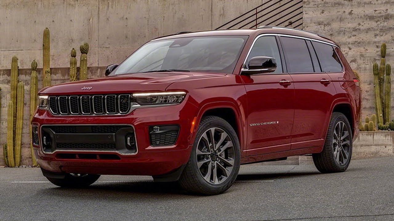 2021 jeep grand cherokee l - new-gen luxury three row suv
